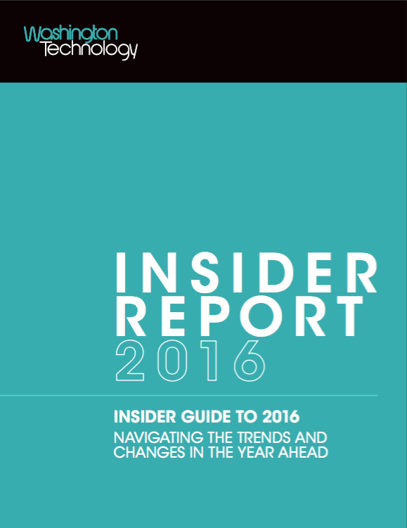 Article: Washington Technology 2016 Insider Report